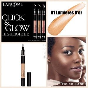 Lancôme Click & Glow Highlighter- 01 Lumieres D'Or